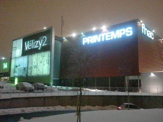centro commerciale v lizy 2 picture of ibis budget velizy velizy villacoublay tripadvisor. Black Bedroom Furniture Sets. Home Design Ideas