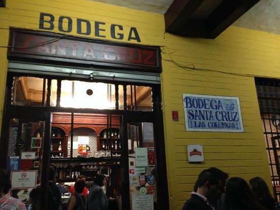 Bodega Santa Cruz: No te despistes!! Es éste!!