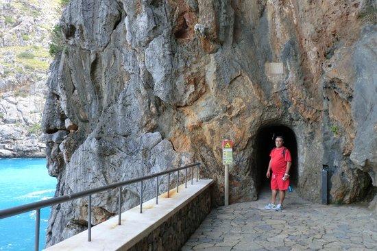 Canyon de la Calobra: Tunel