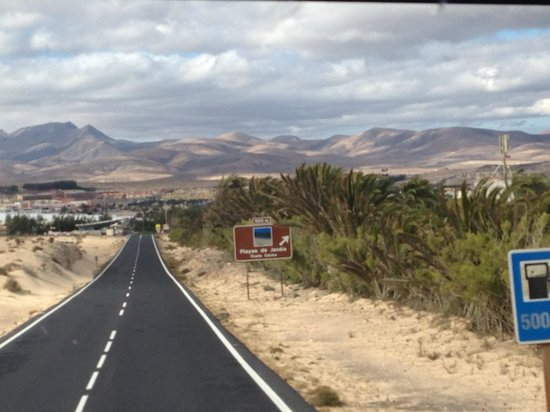TUI MAGIC LIFE Fuerteventura : On route from airport to hotel