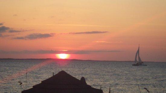 Bay Bistro: Gorgeous sunset!