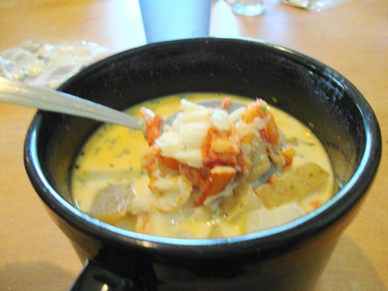 Route 2 Diner: Lobster Chowder