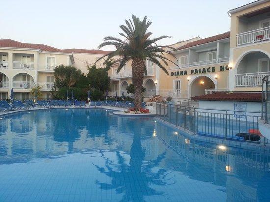 Diana Palace Hotel: Last evening
