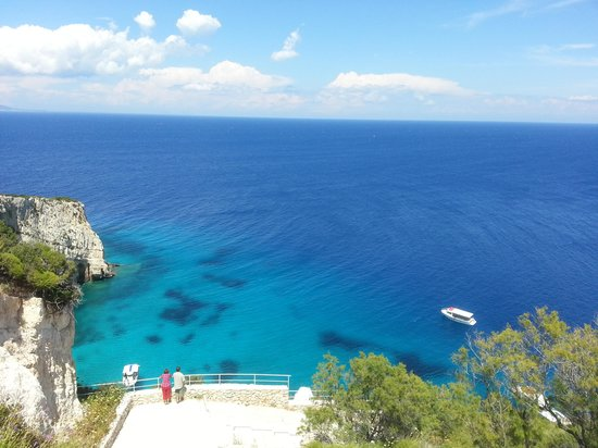 Diana Palace Hotel: Above Blue Caves