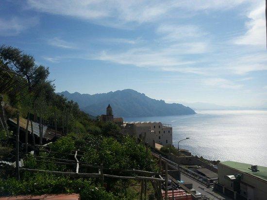 Il Pavone: La vista dalla terrazza all'ultimo piano