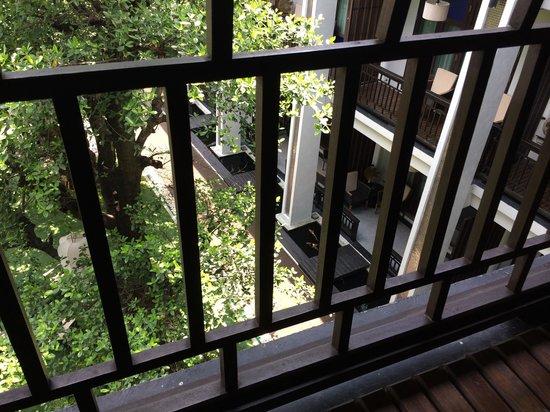 De Lanna Hotel, Chiang Mai: View from the balcony