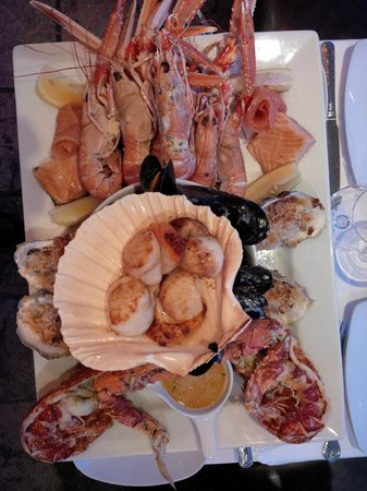 The Pierhouse Hotel: We struggled to finish this massive platter