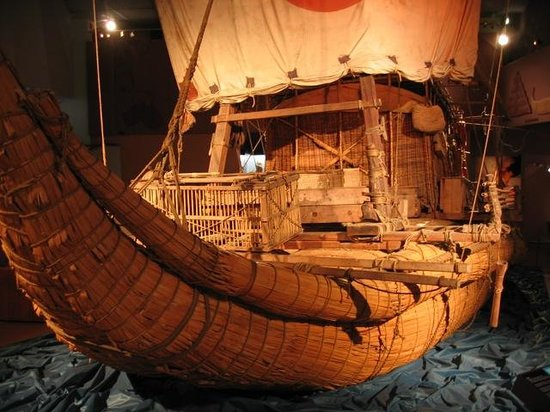 The Kon-Tiki Museum : deck overview