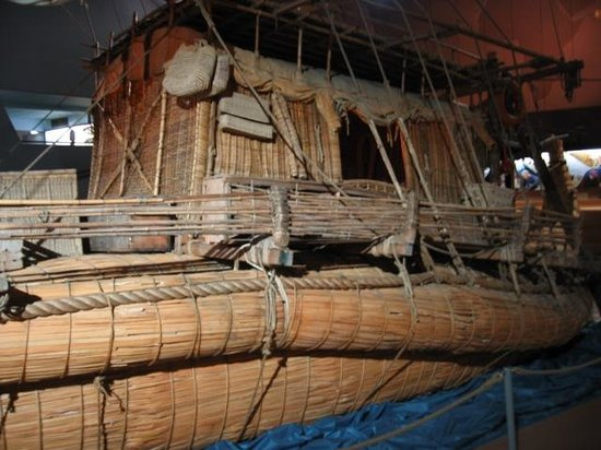 The Kon-Tiki Museum : side view from Thor's hut