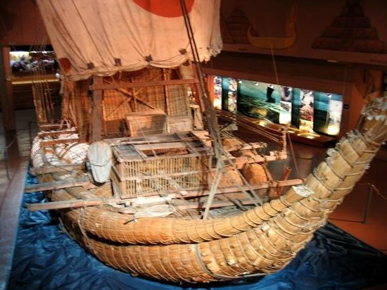 The Kon-Tiki Museum : Model overview