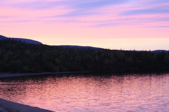 Grenfell Louie A. Hall : Labrador Straits Sunset