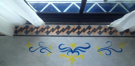 U Residence: Flooring -- hand-painted decorations