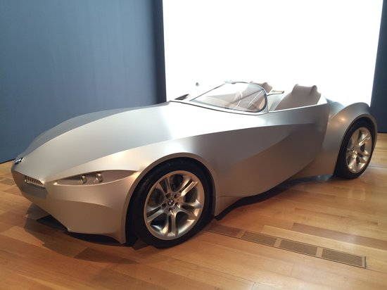 High Museum of Art: Stretched fabric BMW!
