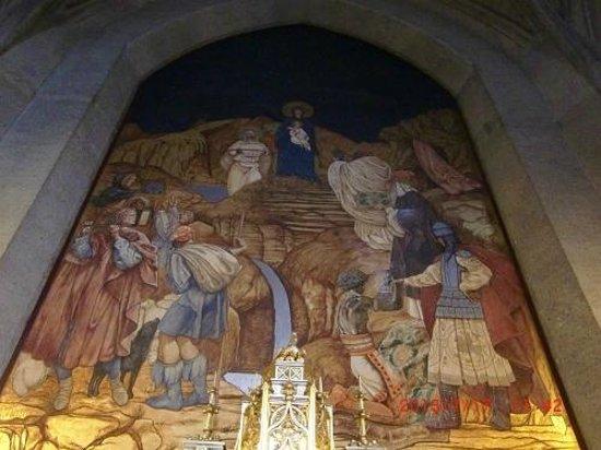 Grace Cathedral: 大聖堂内の礼拝堂の絵