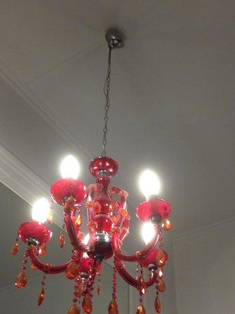 Magna Grecia Boutique Hotel : Loose light fixture