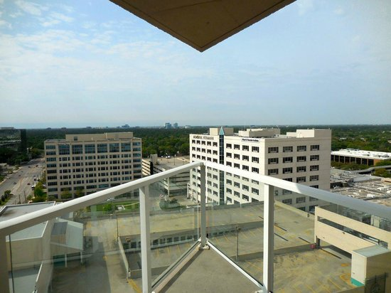 The Westin Houston Memorial City: View from the suite balcony