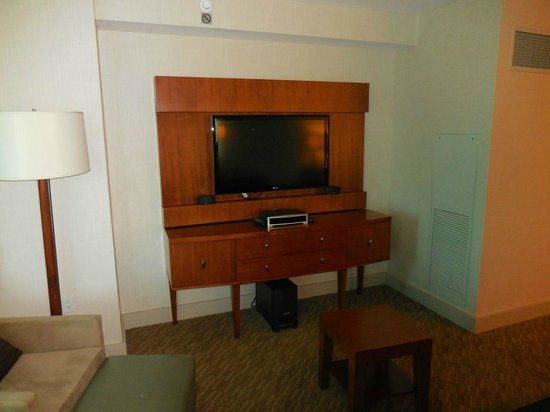 The Westin Houston Memorial City: Bose audio and video system in suite