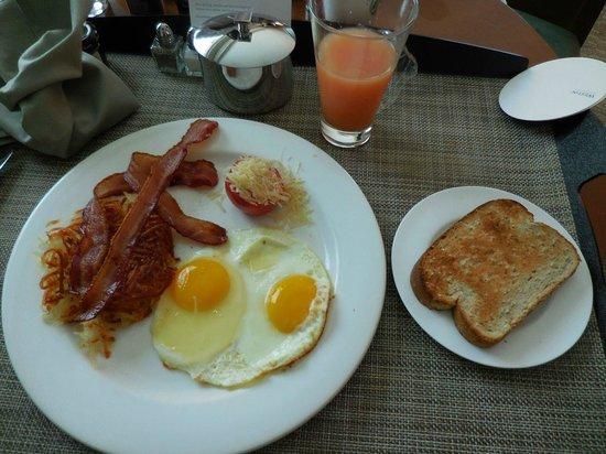 The Westin Houston Memorial City: In room breakfast
