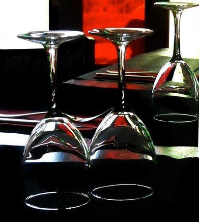 La Tratto Sitges: mesa puesta