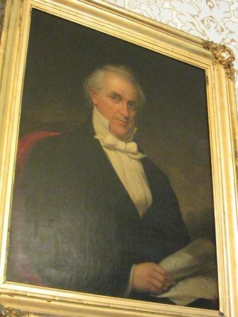 Wheatland: Buchanan's portrait