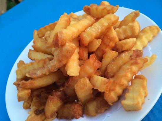 After Beach Bar: My crispy fries