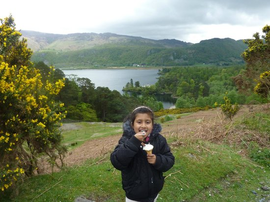 Thirlmere in the Lake District: Ice cream break