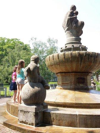 Japanischer Garten: Kein Trinkwasser