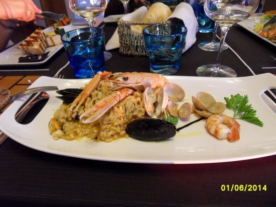 Ristorante La Marinella: Mixed Grilled Fish
