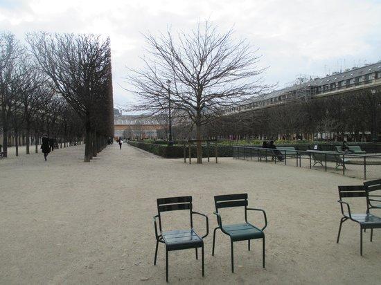 Palais Royal: パレロワイヤル 北側