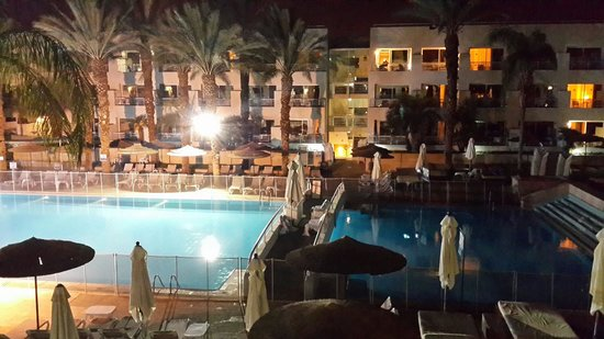 Leonardo Royal Resort Hotel Eilat : Pool view from the room