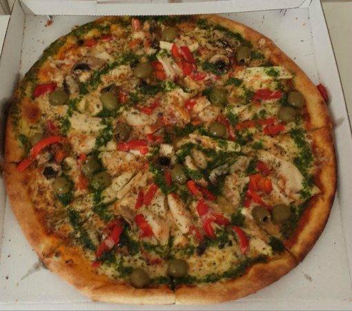 pizza støden