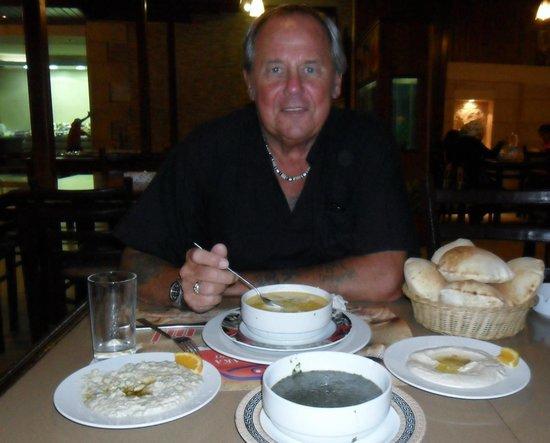 El Halaka : set menu soup starter