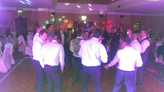 Leixlip House Hotel: getting everyone up x