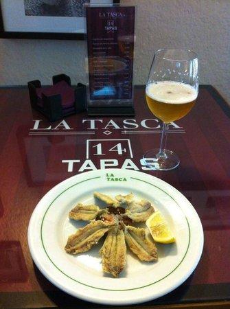 Restaurante La Tasca: boquerones