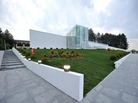Крушево, Республика Македония: Tose Proeski Memorial House has won the first place at the global architecture event