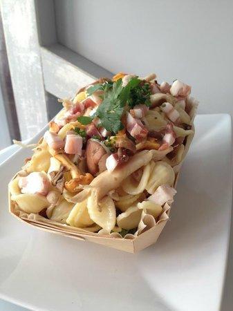 Marterey 56 : Orechiette légumes assorties et Fruits de mer