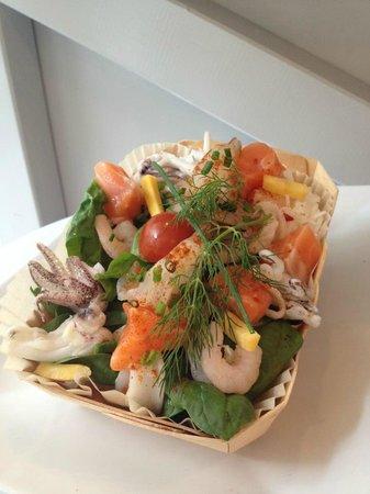 Marterey 56 : Riz Basmati légumes croquants, poulpes, crevettes