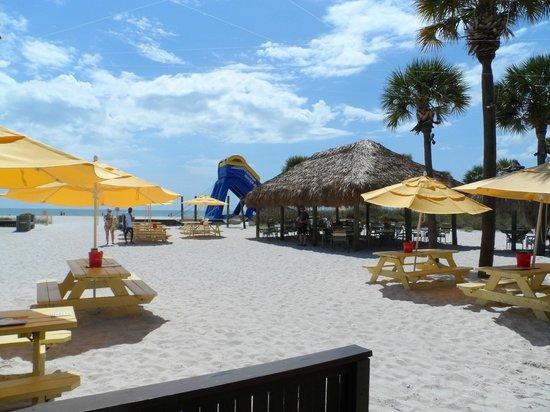 Sirata Beach Resort: Beach view from Rumrunners Lounge/Restaurant