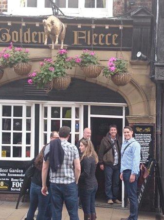 Golden Fleece: Front Entrence