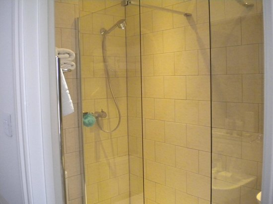 Hotel Continental: lovely big shower