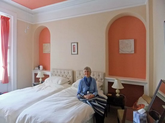 The Dunedin Guest House : The attractive bedroom