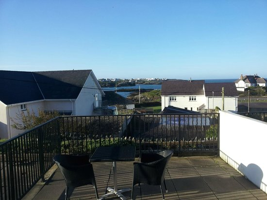 Trearddur Bay Hotel : View from my room in the morning.