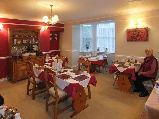 The Dunedin Guest House: The tasteful basement breakfast room ...