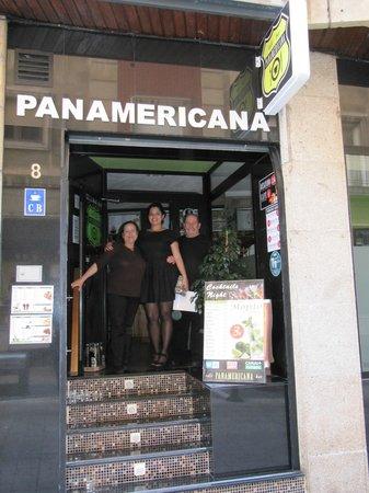 Café Bar Panamericana: comida