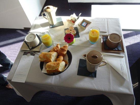 Le Rexhotel : Petit déjeuner