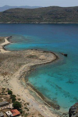 Cretan Daily Cruises - Gramvousa Balos : Вид с крепости