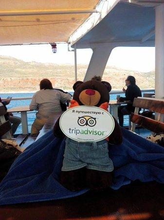 Cretan Daily Cruises - Gramvousa Balos : Путешествует с Трипадвизором