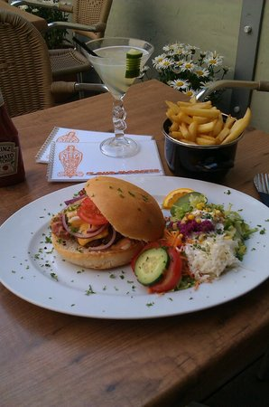 't Oud Clooster: luxe hamburger!