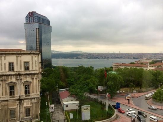 Grand Hyatt Istanbul: view from 8th floor