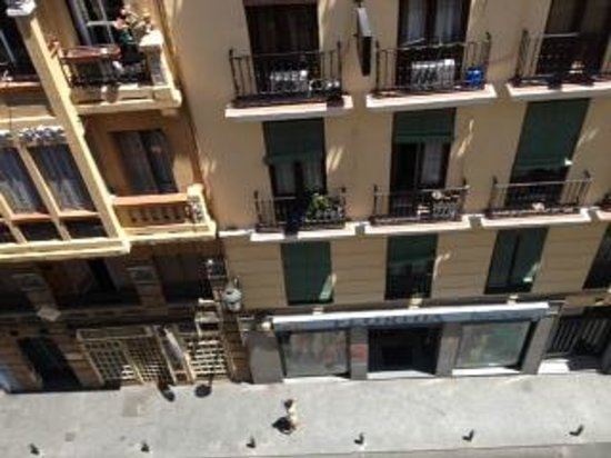 Hotel Eurostars Plaza Mayor: view from room